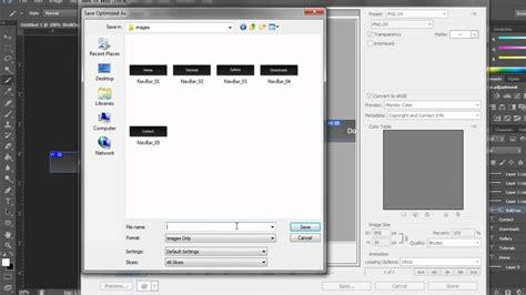 dreamweaver tutorial navigation bar photoshop cs6 and dreamweaver cs6 tutorial website