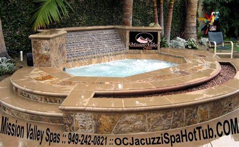 stone  tile custom  ground built  spas  garden