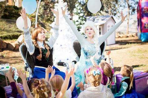 Frozen Themed Party Entertainment | the best frozen themed princess party characters in
