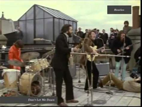 the beatles don t let me down rooftop beatles don t let me down rooftop live 1969 hq