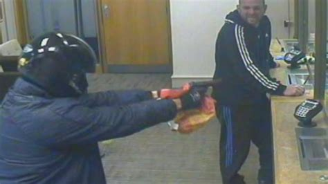 best bank robbery bank robbery fail catches bank robber after spotting