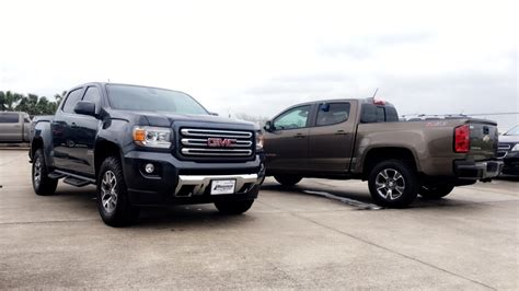 2017 chevrolet colorado z71 vs 2017 gmc all terrain