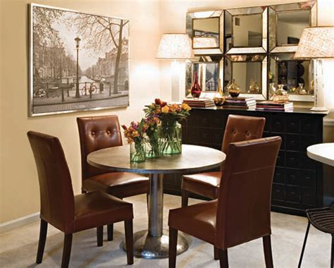 small space living eclectic dining room atlanta by