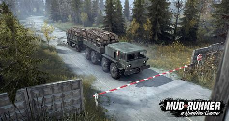 Spintires Mudrunner Ps4 by Spintires Mudrunner On Consoles Ps4 And Xone Spintires