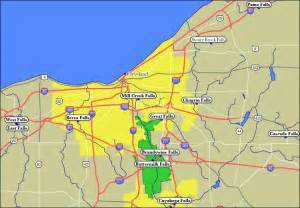 map of cleveland oh area pictures to pin on