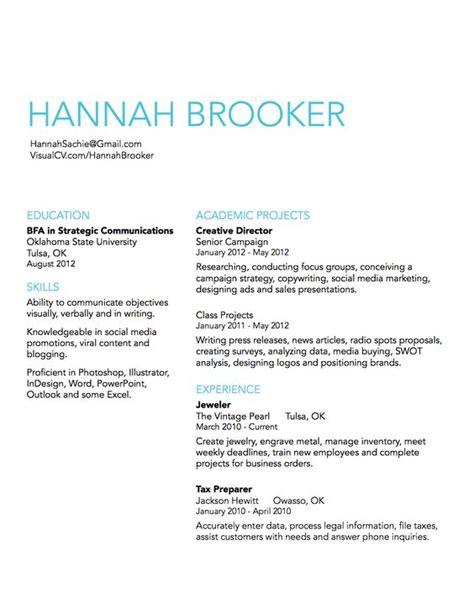 simple resume design idea career simple