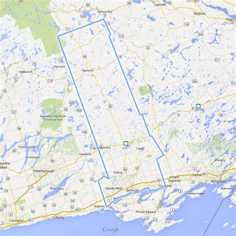 gis program background ontario county county of hastings