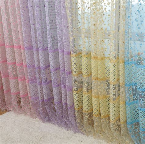 material for drapes modern window curtain printed tulle fabric for curtains