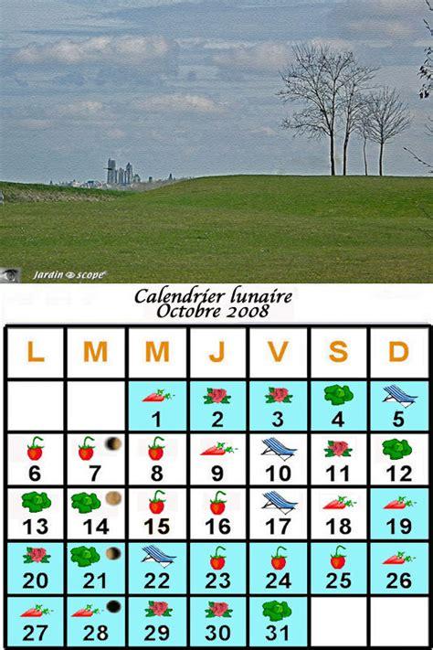 Calendrier Lunaire Novembre 2008 Jardiner Avec La Lune Au Mois D Octobre 2008 Le