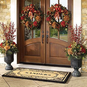 pretty dubs how to hang a door wreath without nails front door fall wreaths how did they hang the wreaths