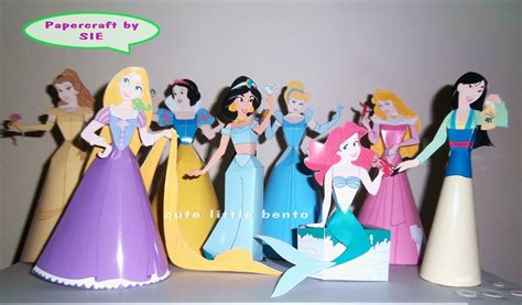 Disney Papercraft - paper princess crafts