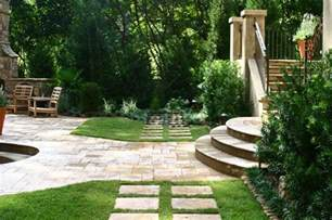 Italian Style Backyard Italian Villa Traditional Patio Atlanta By Bennett