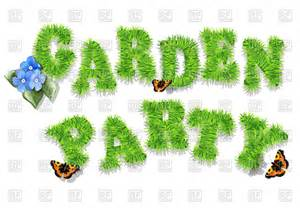 Letter Garden Free by Garden Invitation With Letters Of Grass Vector Image