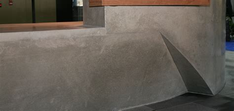 Concrete Reception Desk Concrete By Design 187 Nishi Reception Desk