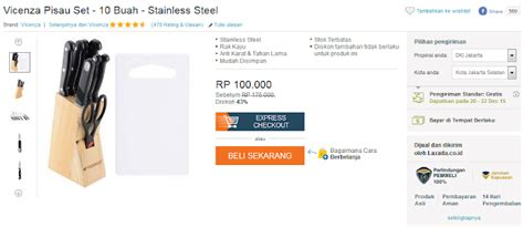 Vicenza Pisau Set 10 Buah Stainless Steel vicenza pisau set 10 buah stainless steel rp100 000