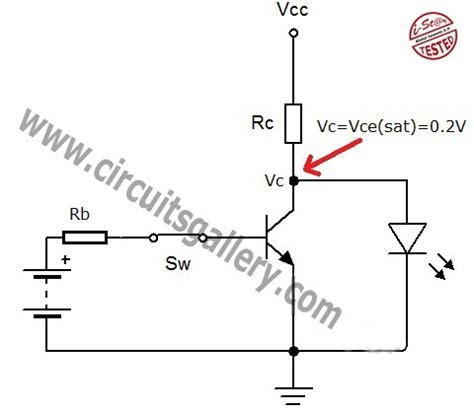 transistor j5027 transistor act as a switch working and transistor switching circuit circuits gallery