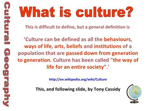 cultural biography definition cultural identity