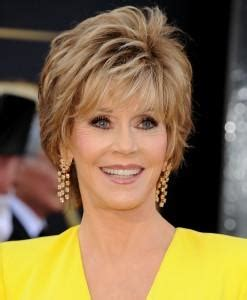 short hairstyles off the face jane fonda fires off about nancy reagan casting criticism