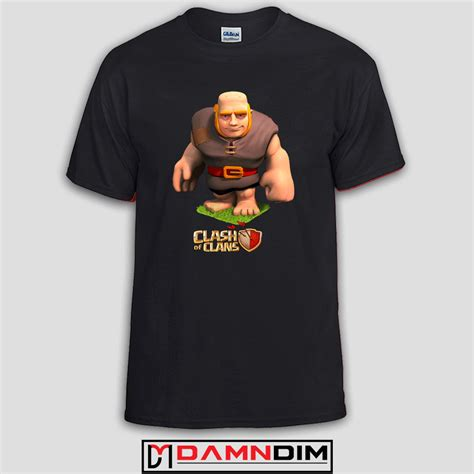 T Shirt Clash Of Clan Black clash of clans custom tshirts and unisex
