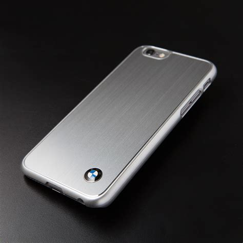 Iphone 6 6s Bmw Back Cover Armor 2 brushed aluminum bmw logo iphone 6 bmw touch of modern