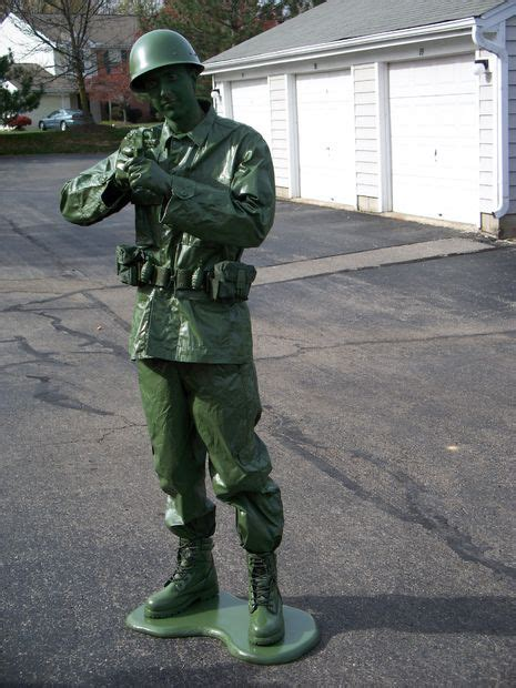make a toy soldier halloween costume for less than 50 or