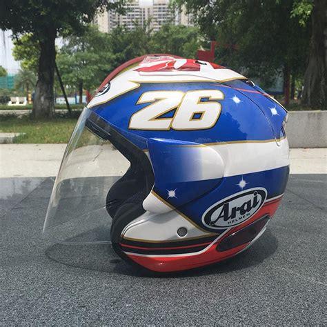Helm Arai Half 2017 top arai helmet motorcycle helmet half helmet open helmet casque motocross size s
