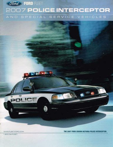 download car manuals 2007 ford crown victoria security system purchase 2007 ford police interceptor fleet brochure crown victoria special service motorcycle