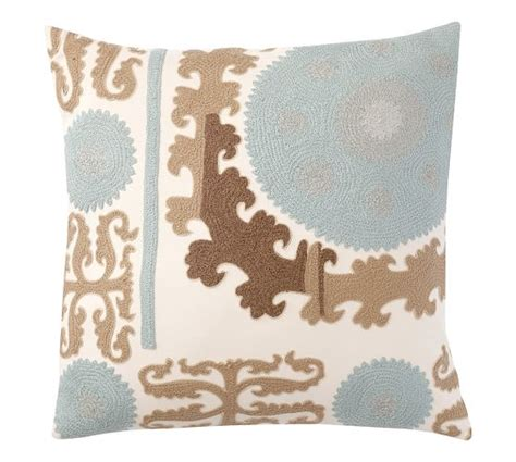 suzani embroidered pillow cover cool 26 quot square