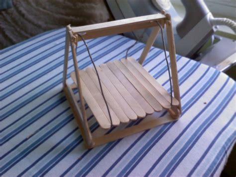 hamster swing  pet toy wirework  woodwork  cut