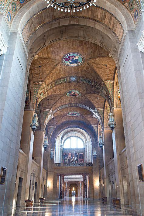 foyer international nebraska state capitol foyer ceiling medallions