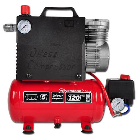 Kompresor Mini 12 Volt Piston Compressor Flow Rate 60 L Min To 8 Bar 12v