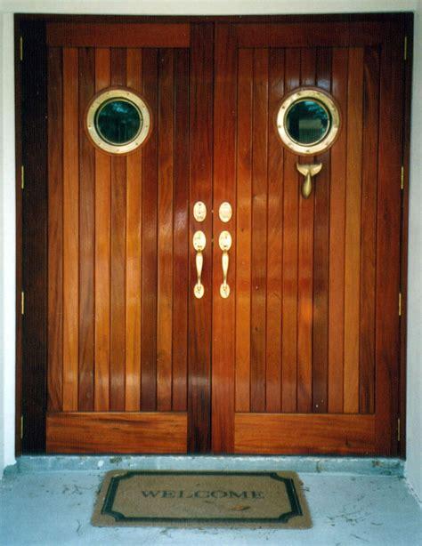 mahogany wooden doors design