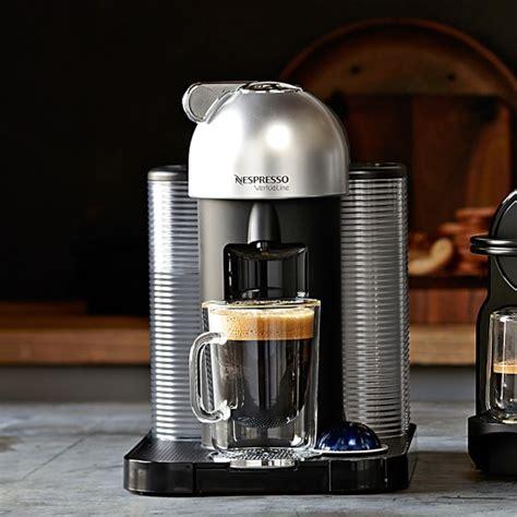 nespresso coffee nespresso vertuo coffee espresso maker williams sonoma