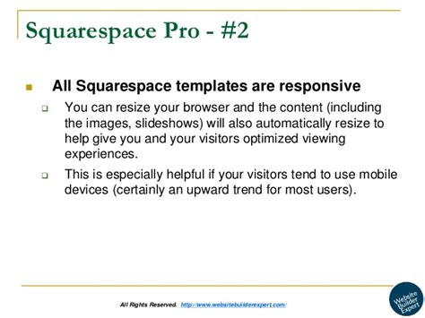 Squarespace Review Squarespace Responsive Templates