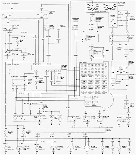 1987 chevrolet s10 wiring diagram wiring diagram