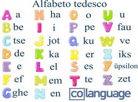 lettere con l umlaut alfabeto tedesco 223 umlaut e dittonghi