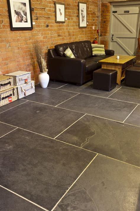 Large Floor Tiles Mrs Store Black Riven Large