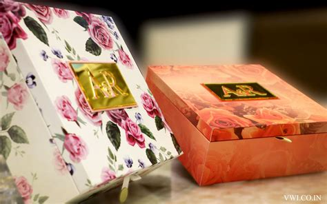 indian wedding card post box designer wedding cards exclusive wedding invitations delhi