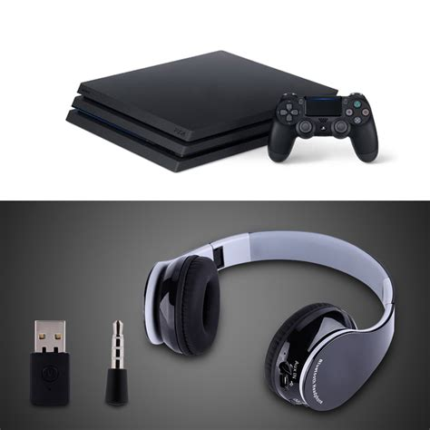 best bluetooth headphones for ps4 foldable wireless bluetooth 4 1 gaming headphone headset