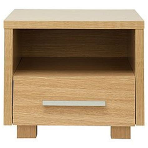 bedside table amazon camden side table oak bedside table 1 drawer 1 shelf