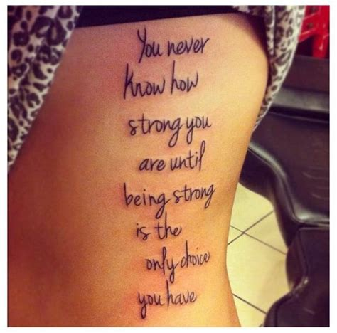 tattoo quotes about being good enough 30 positive tattoo ideas for women that are very