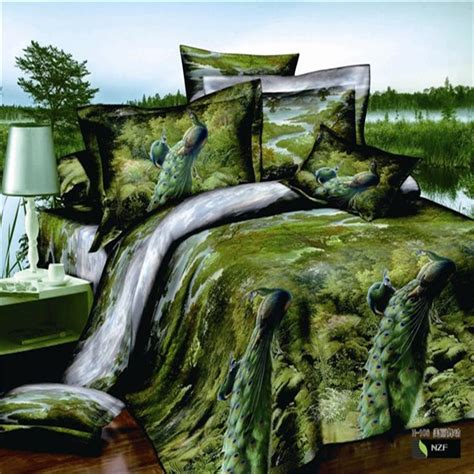 forest bed set online get cheap forest green comforter aliexpress com