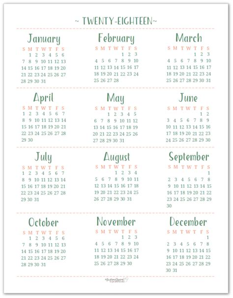 printable term planner 2018 dated yearly calendar printables are here yearly
