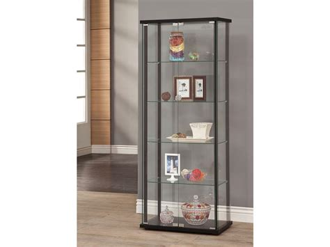 coaster living room curio cabinet 950170 furniture