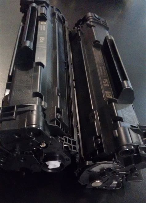 Tinta 85a cartucho vacio original hp 85a ce285a virgen p1102w 35