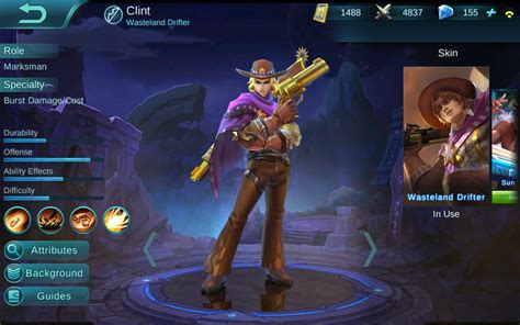 mobile legend guide cowboy clint guide mobile legends wikia guide