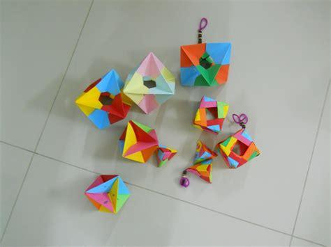Origami Platonic Solids - math circle