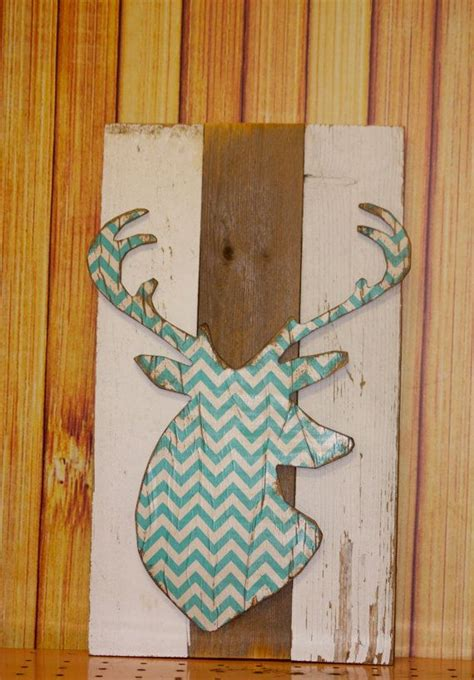 chevron deer bear whale plank sign vintage marquee lighted