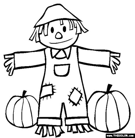 coloring pages scarecrow printable fall coloring pages 2018 dr odd