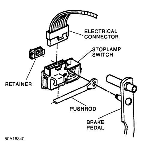 brake light switch 98 chevy silverado stop light switch location 97 vada stop get free image